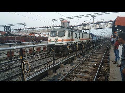 (HD)Wap7 Bihar Sampark kranti ignores Big...
