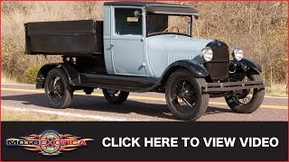 1928 Ford Model A Dump Truck For Sale