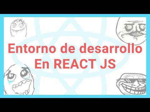 REACT JS entorno de desarrollo -  [Tutorial React js] ESPAÑOL #2 thumbnail