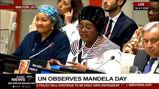 United Nations observes Mandela International Day