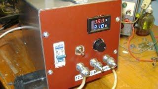видео простейшая схема зарядное устройство