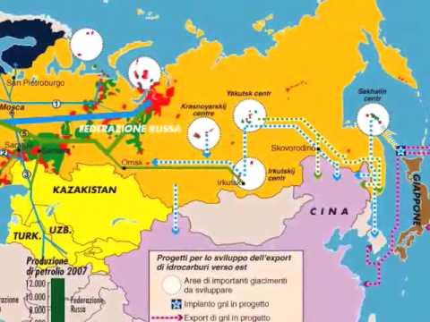 Europa Russia, una storia di tubi