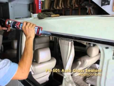 X Traseal Pu 501 Autoglass Sealant Youtube