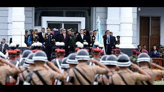#InformeNacional | Presidente Morales insta a alto mando del Ejército a servir a Guatemala