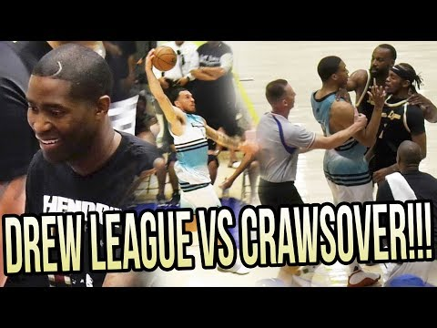 BATTLE OF THE PRO-AMS! Jamal Crawford's Team VS Drew League Favorites in COMPTON!