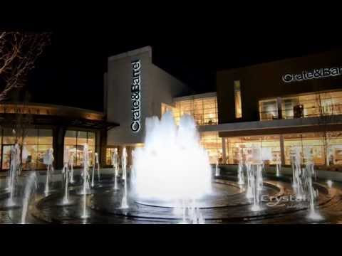 Oakbrook Center, Chicago, Illinois - Crystal Fountains