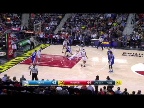 Philadelphia 76ers vs Atlanta Hawks | January 21, 2017 | NBA 2016-17 Season