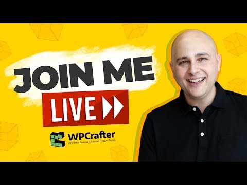 WPCrafter Live - New Videos Coming Next Week & Live Q&A