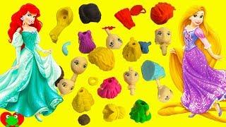 Disney Princess Puzzle Erasers Surprises Rapunzel, Ariel, Cinderella