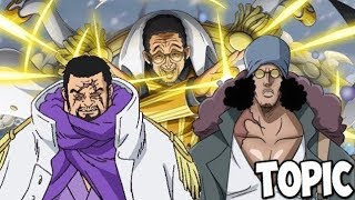 Admiral Power Level Explained! One Piece 908 & Beyond! ワンピース