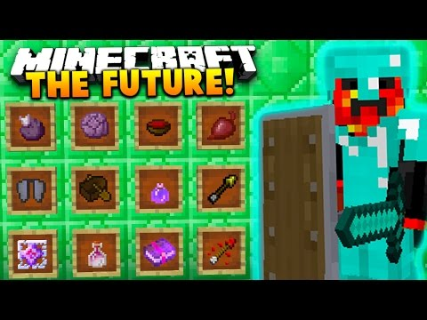 THE FUTURE IS HERE! | PRESTON vs VIKKSTAR vs WOOFLESS (Minecraft 1.9 Battle Arena)