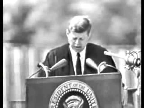 JFK  Peace  Speech at American University
