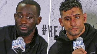 Terence Crawford vs. Amir Khan FULL POST FIGHT PRESS CONFERENCE | Top Rank Boxing