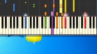 Kenny Rogers   Coward of the County [Synthesia Piano] [Piano Tutorial Synthesia]