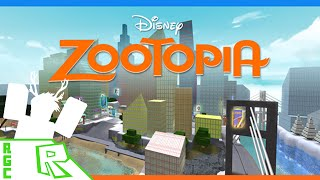 Roblox Gameplay Commentary - Zootopia!