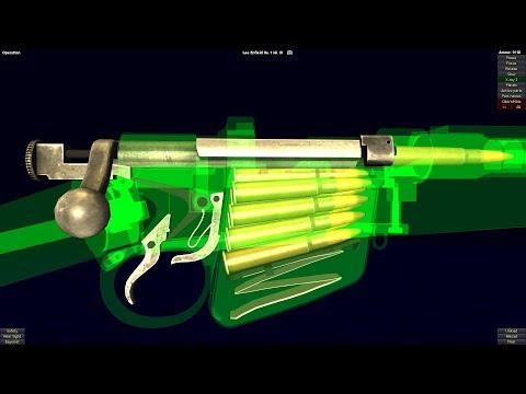 HOW LEE ENFIELD WORKS (British Sniper Rifle In World War)
