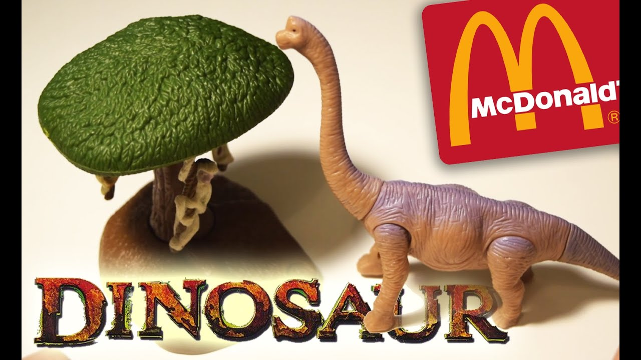dinosaur baylene and lemur tree mcdonalds disney toys