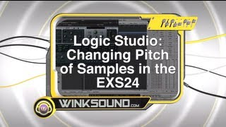 Logic Pro: Changing Pitch of Samples in the EXS24