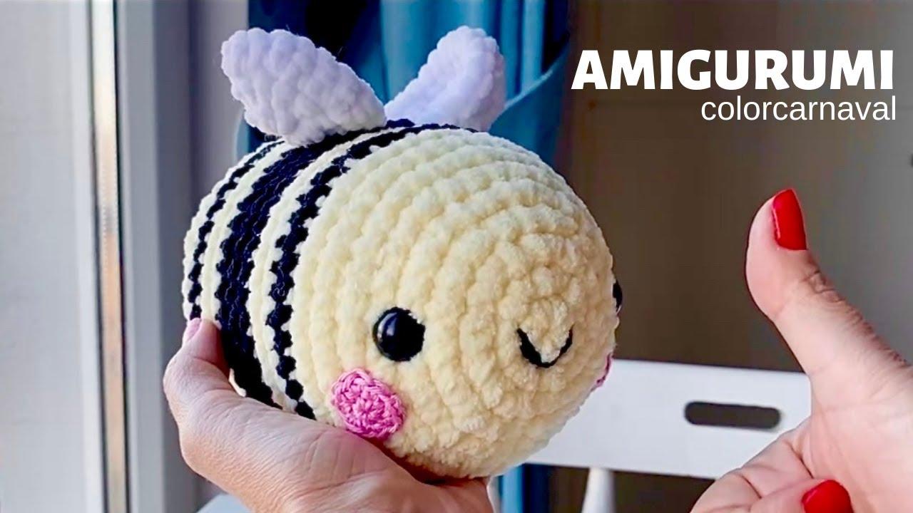 Amigurumi Kadife İp Arı Bumblebee Yapılışı | SUBTITLE 👍