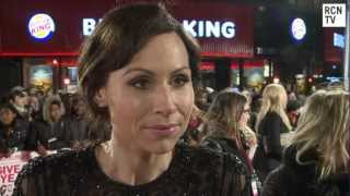 Minnie Driver Interview - Justin Bieber Cougar -  I Give It A Year European Premiere