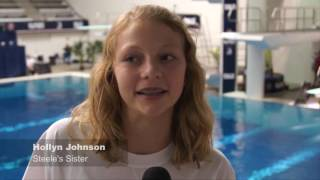 Repeat youtube video Olympian Steele Johnson: Archived Family Interviews (In It For the Long Haul)