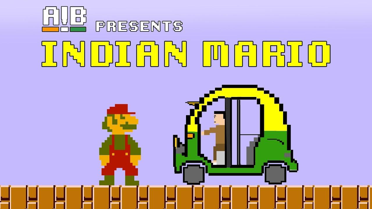 AIB : Indian Mario - YouTube