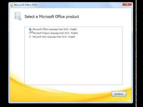 Microsoft Office 2010 Language Packs All Languages Change The