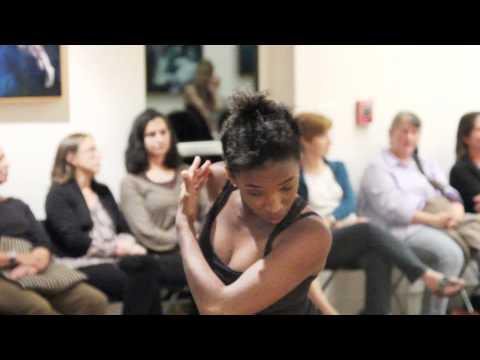 Fusionworks improvisational dance at the Dedee Shattuck Gallery