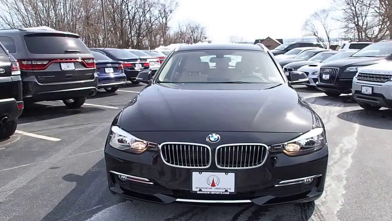 2014 bmw 328d xdrive sport wagon diesel luxury line youtube. Black Bedroom Furniture Sets. Home Design Ideas