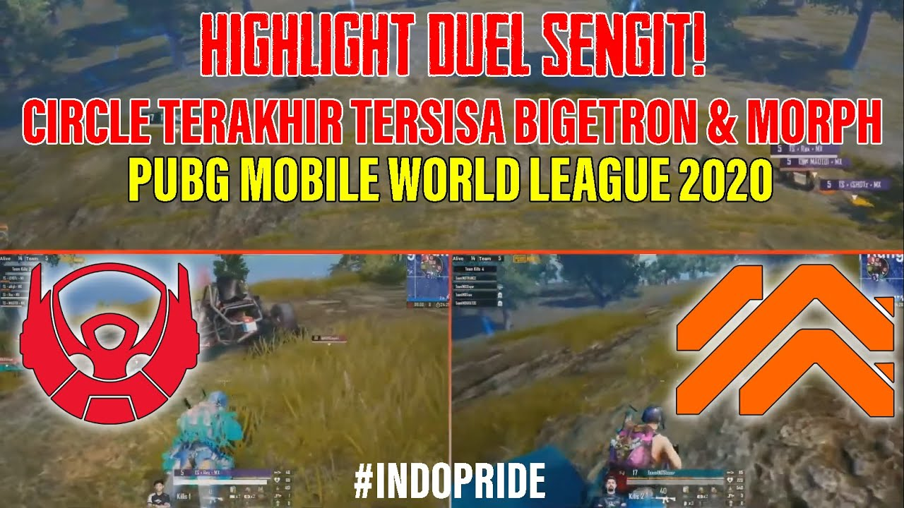 Duel Terpanas Bigetron RA vs Morph di Last Round PUBG Mobile World League