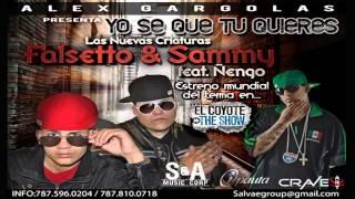 Yo Se Que Tu Quieres - Falsetto y Sammy Ft. Ñengo Flow HD