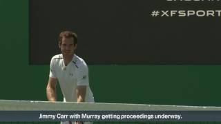 Murray beats Joshua in tennis match