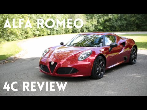 Alfa Romeo 4C Review!!!