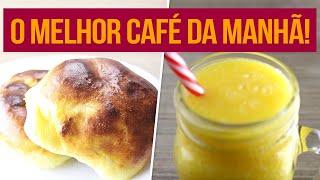 CAFÉ DA MANHÃ SAUDÁVEL! | Receitas Fitness Fáceis para começar a semana!