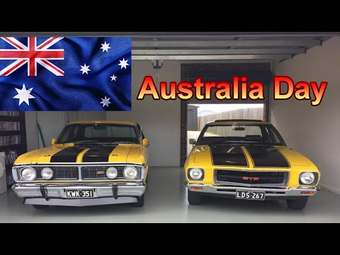 Aussie Muscle cars, Classic cars Kevs Australia Day Holden Ford Valiant Car show 2020