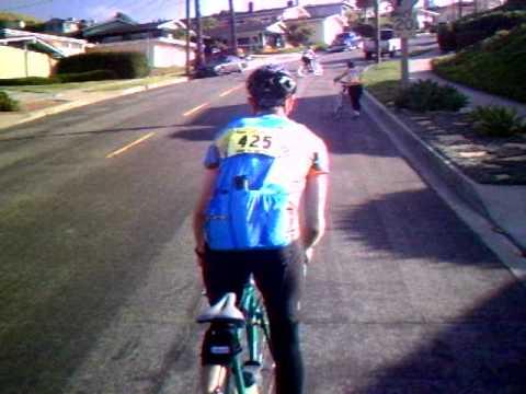 Long Beach Tour De Cure 2010 Climb Anchovy Part 5.AVI