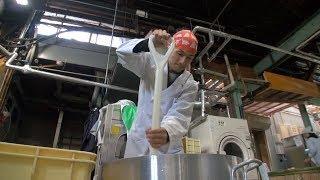 ケンチが秋田の酒蔵『新政』で作った「亜麻猫橘」が出来るまでの約6ヶ月...