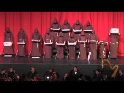 2012 Christmas Gala:  Hallelujah Monks