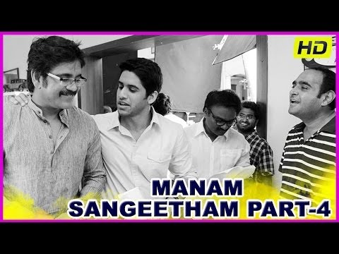 Manam - Latest Telugu Movie Sangeetham Celebration Part-4 - ANR,Nagarjuna,Samantha(HD)