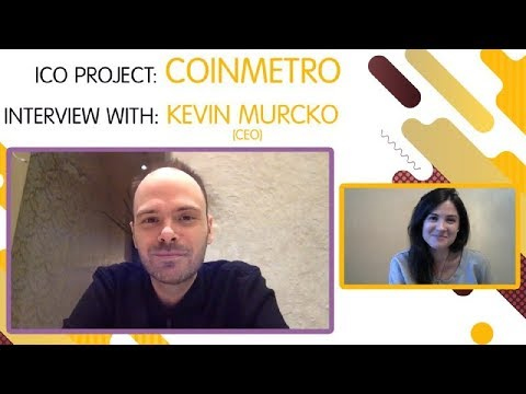 "ICO ""COINMETRO"" interview with  Kevin Murcko [ENG] [SUB: RU]"
