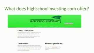 High School Investing Intro