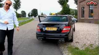 Mercedes C63 AMG with Floris Wyers (MrWheels)