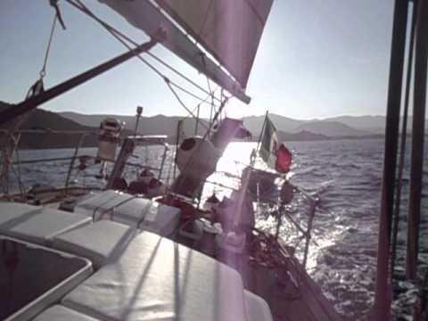 Sailing Tyrrhenian Sea