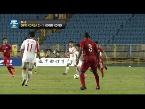 DPR KOREA - HONG KONG Highlights (Men's)    EAFF EAST ASIAN CUP 2015 Round 2 CHINESE TAIPEI