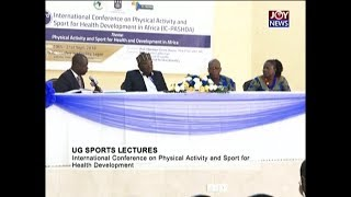 UG Sports Lectures - The Pulse Sports on JoyNews (21-9-18)