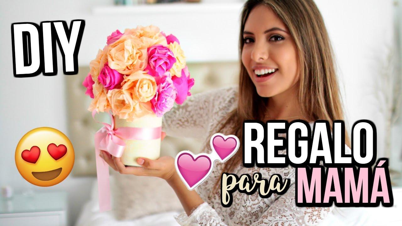 DIY REGALO PARA MAMÁ FÁCIL Y RÁPIDO 💕Sorpréndela!!! | Valeria Basurco