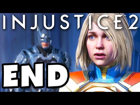 BATMAN GOOD ENDING - Injustice 2 - Gameplay Part 12 - Chapter 12: Absolute Justice! (Story Mode)
