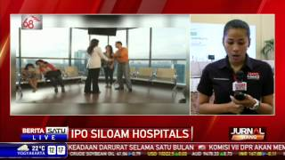 LIVE - PT Siloam International Hospital Jadi Emiten di BEI