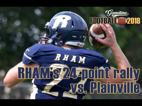 RHAM's 24 Point Comeback V Plainville