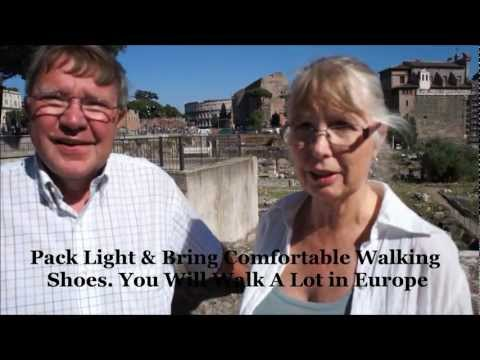 Baby Boomer Travel Tips for Europe